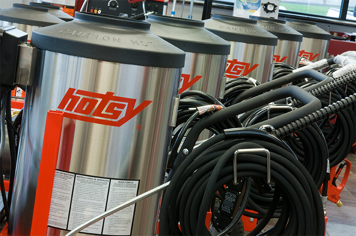 Hotsy pressure washer lines for sale in Cedar Rapids and Des Moines