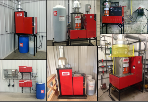 Hotsy Iowa pressure washer equipment and placement