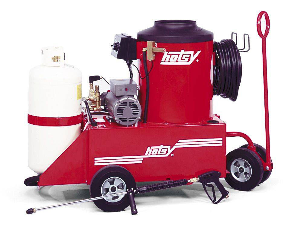 771 772 Series Gas Powered Hot Water Pressure Washer